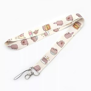 New Pusheen the Cat Printed Lanyard
